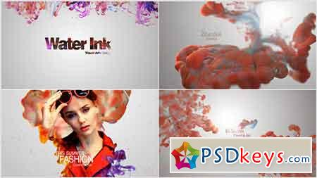 Water Ink Package After Effects Template 20933155