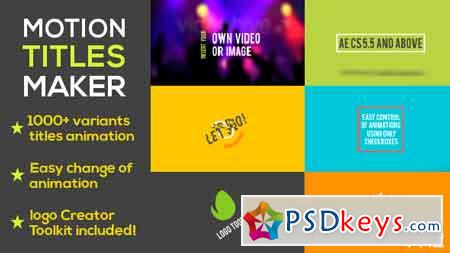 Motion Les Maker After Effects Template 13679673