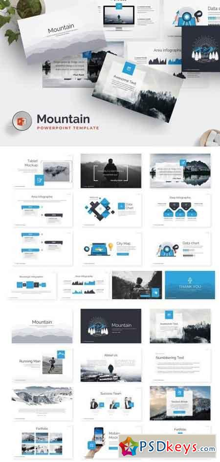 Mountain Powerpoint Template