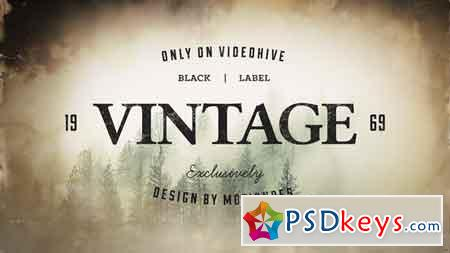 Vintage Opener 3 After Effects Template 21745930