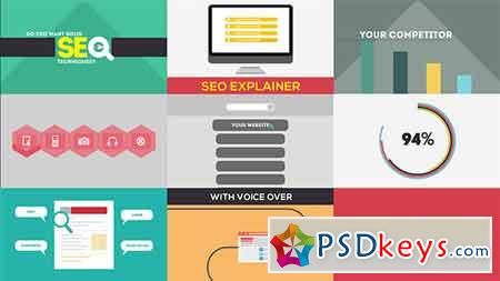 SEO Explainer Opener After Effects Template 6532854