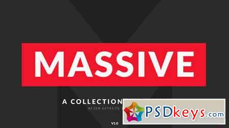 Massive - Titles Pack for After Effects After Effects Template 21880085
