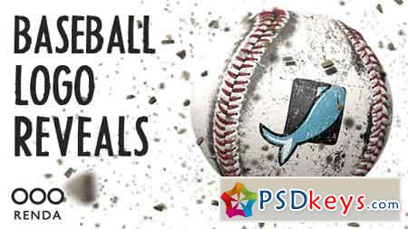 Baseball Logo Reveals After Effects Template 19563634