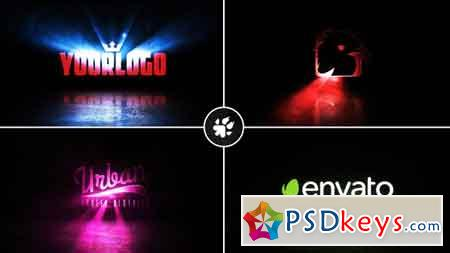 Cinematic Light Rays Logo v2 After Effects Template 21136023