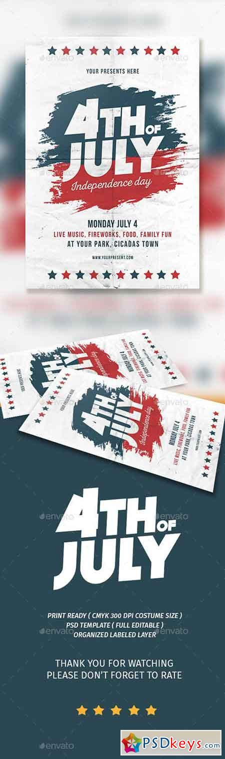 4th of JULY Flyer 16695233