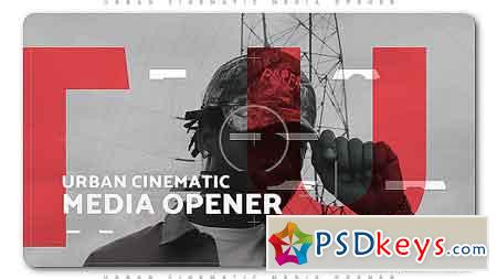 Urban Cinematic Media Opener After Effects Template 20760759