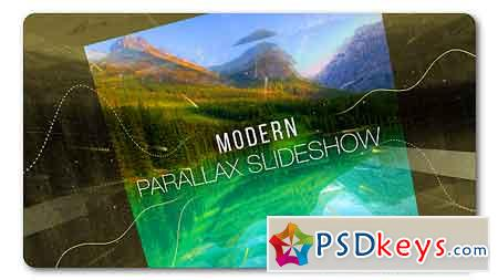 Slideshow Modern Parallax After Effects Template 19374191