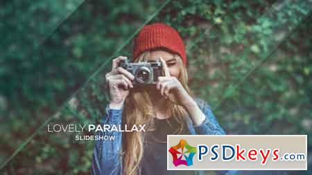 Lovely Parallax Slideshow After Effects Template 16115724