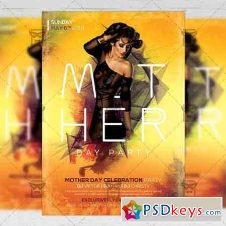 Happy Mother Day – Seasonal A5 Flyer Template