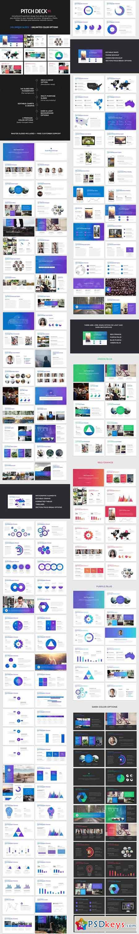 Pitch Deck Start Up Powerpoint 12253011