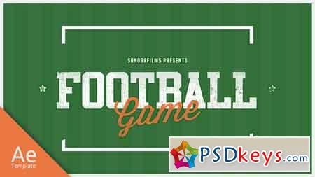 Football Game Promo After Effects Template 20838513