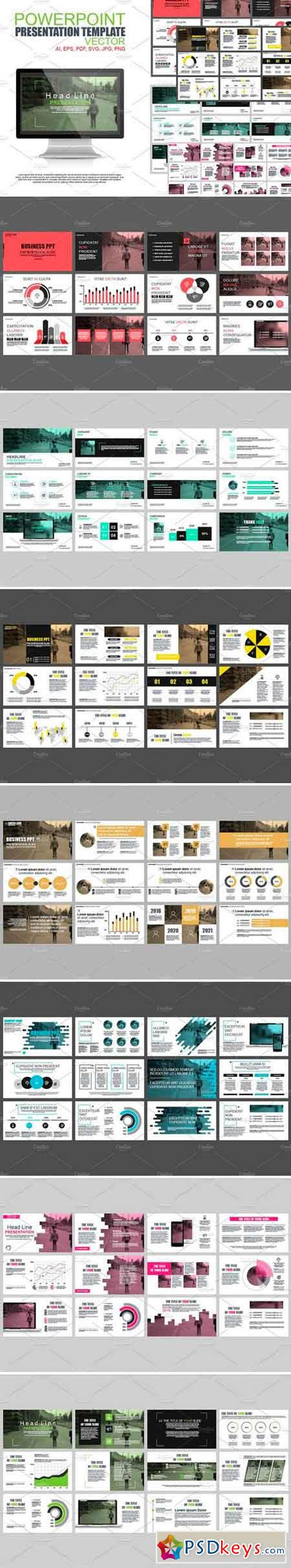 Powerpoint Presentation Templates 2544576