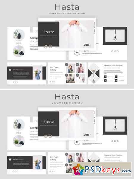 Hasta Powerpoint & Keynote Presentation Template