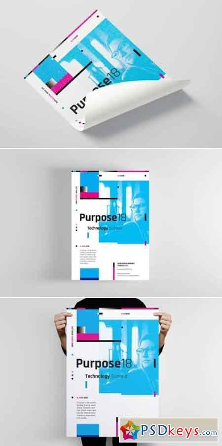 Purpose Series 1 Poster Flyer Template
