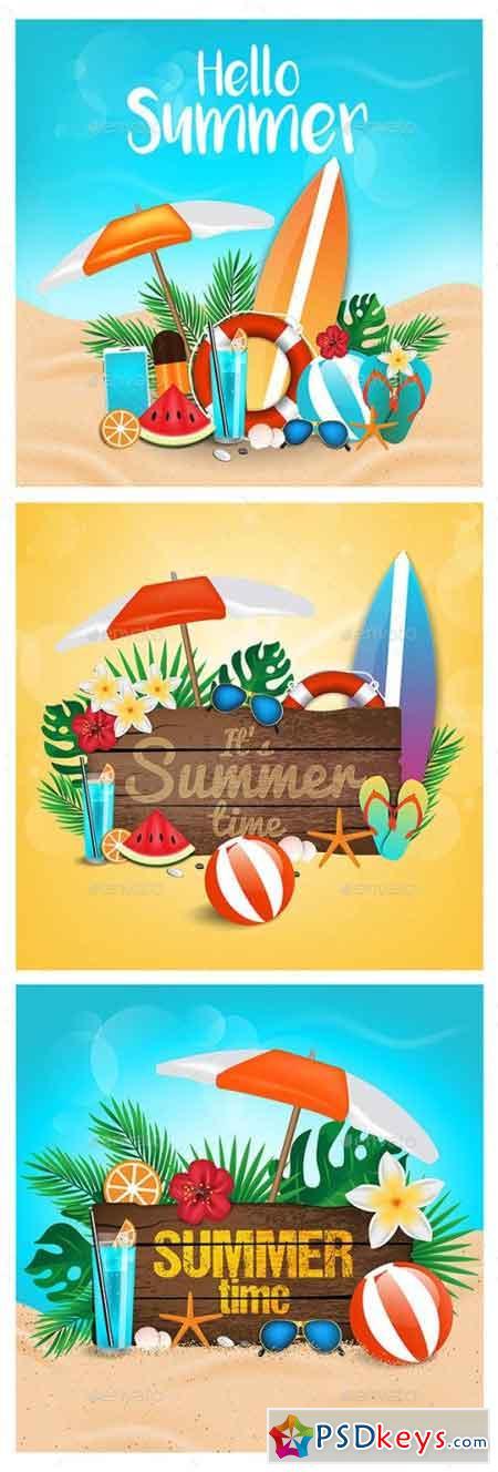 Hello Summer Sea Shore 22121094