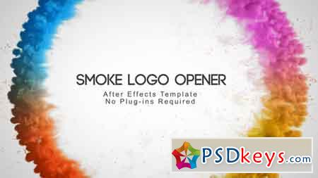 Smoke Logo Opener After Effects Template 3154399
