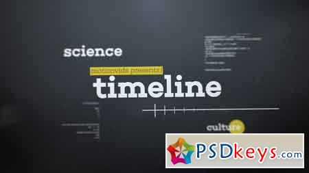 Abstract 3D Timeline After Effects Template 10462858