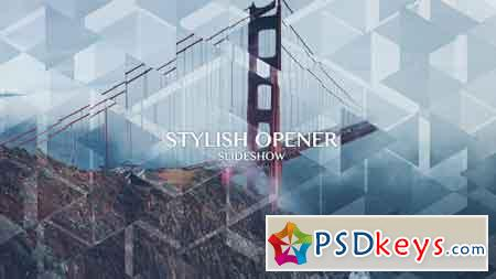 Stylish Opener - Slideshow After Effects Template 13080299