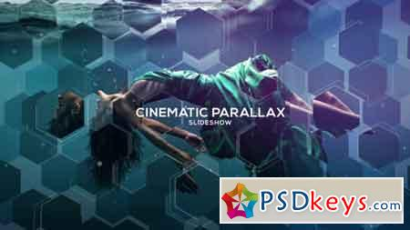 Cinematic Parallax Slideshow After Effects Template 19519021