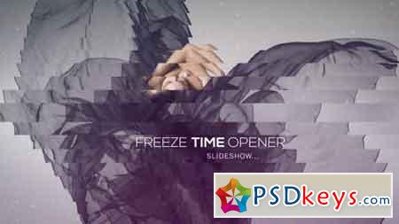 Freeze Time Opener - Slideshow After Effects Template 12692699