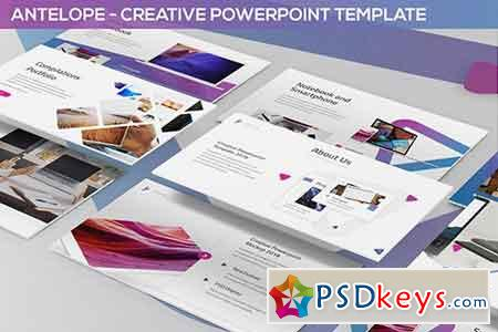 Antelope - Creative Powerpoint Template