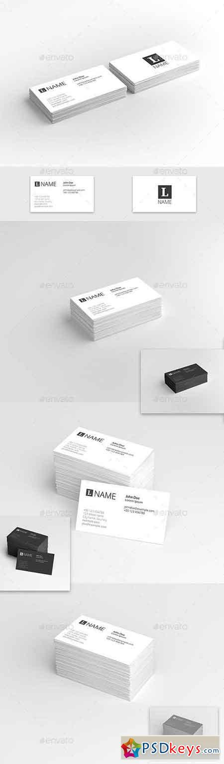Business Card Presentation Template 22031191