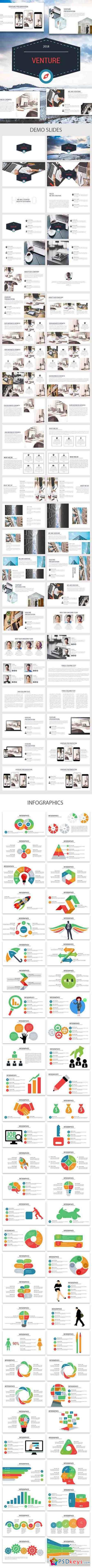 Venture - Multipurpose Powerpoint Presentation 22032337