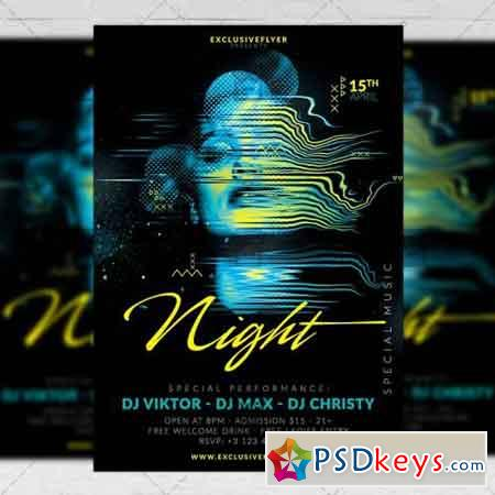 Special Music Nights – Club A5 Flyer Template