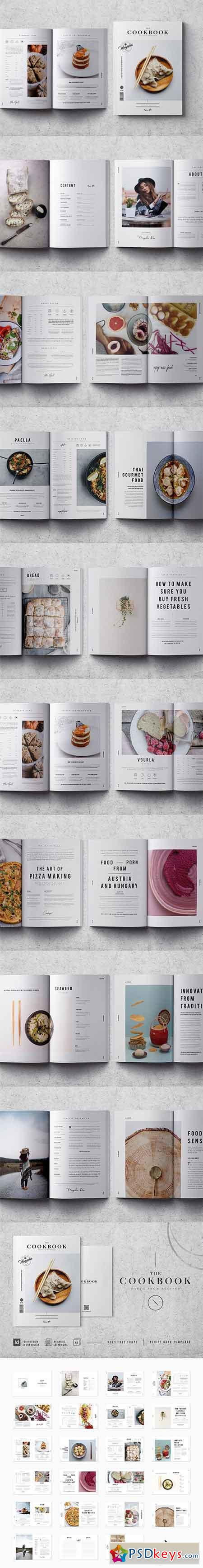Cookbook Recipe Book V.02 2635695