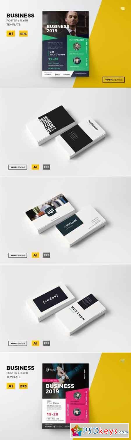 Business Card and Flyer Bundle