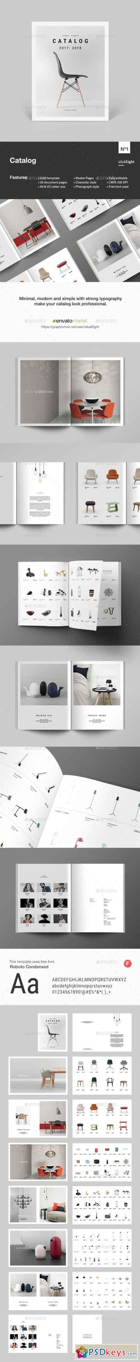 Atractivo Plantilla De Catálogo Adobe Indesign Colección de Imágenes ...