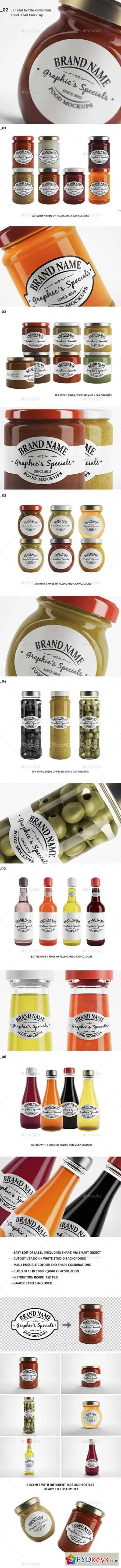 Jar Bottle Mockups 18837360