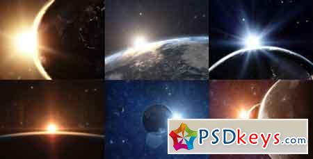 Planet Earth - Sunrise Series After Effects Template 1585504