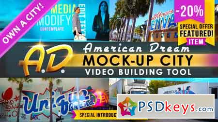 AD - City Titles Mockup Business Intro After Effects Template 21924523