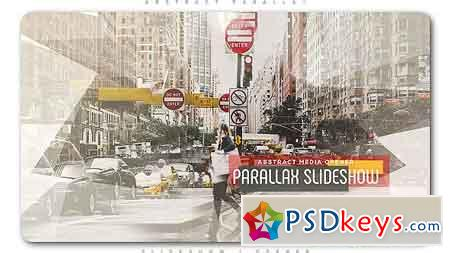 Abstract Parallax Slideshow Opener After Effects Template 20211725