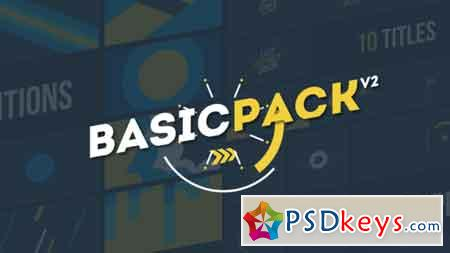 Basic Pack V2 Motion Graphics Template 21709920