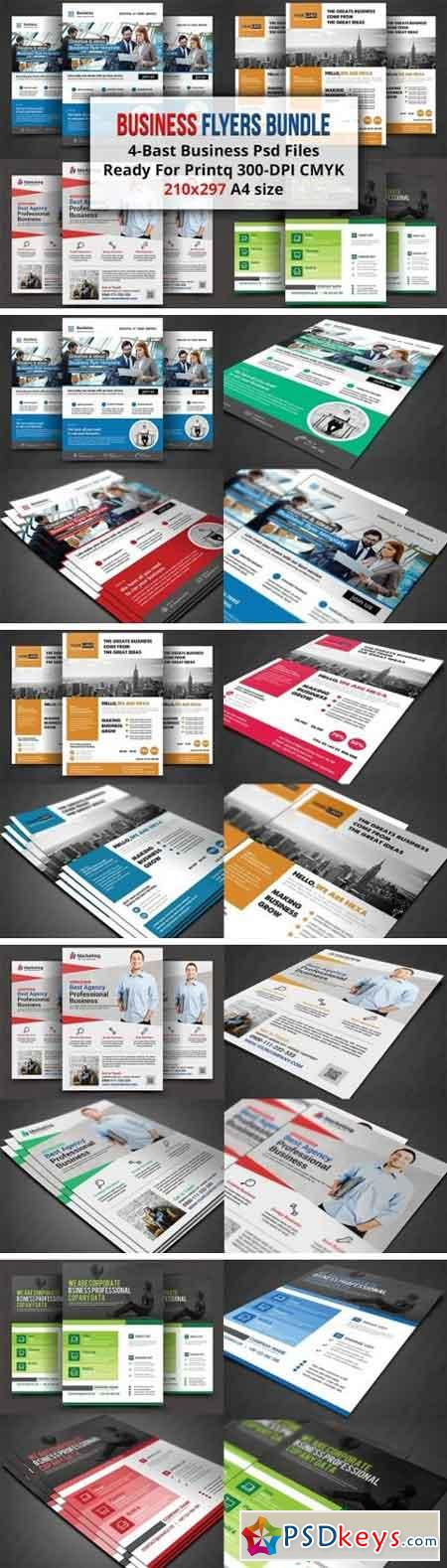 Business Flyers Bundle 1521058