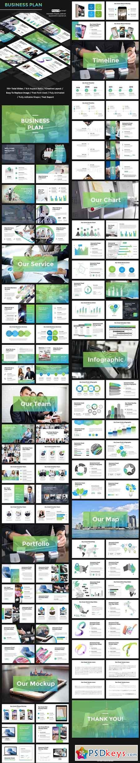 Business Plan PowerPoint 22024791