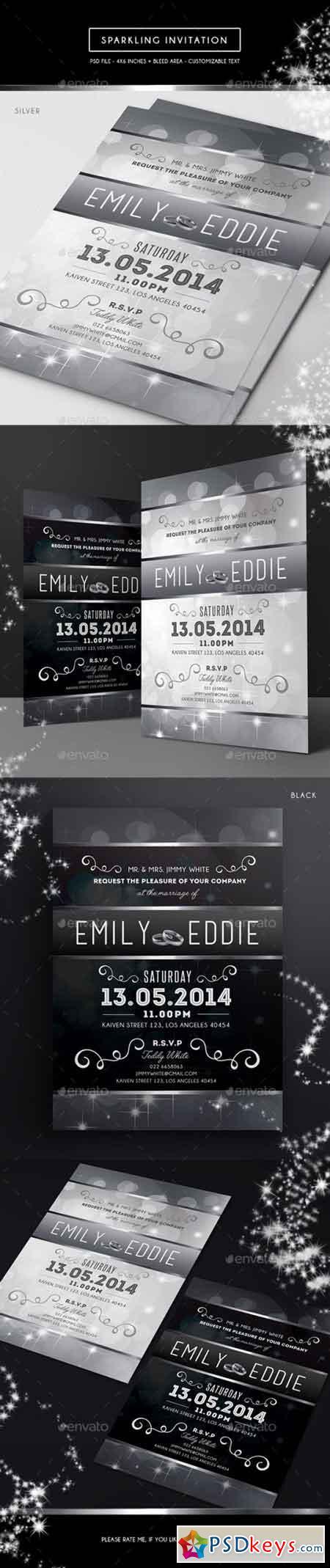 Sparkling Invitation 15305582