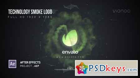 Technology Smoke Logo After Effects Template 21644686