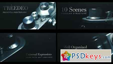 Cinematic Title Sequence After Effects Template 21830510