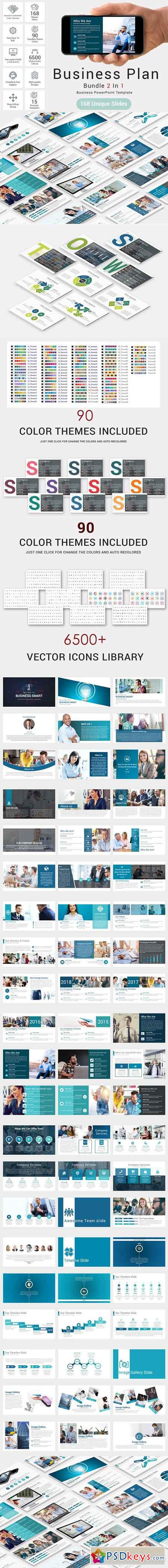 Bundle 2 In 1 Business Plan Template 2636526