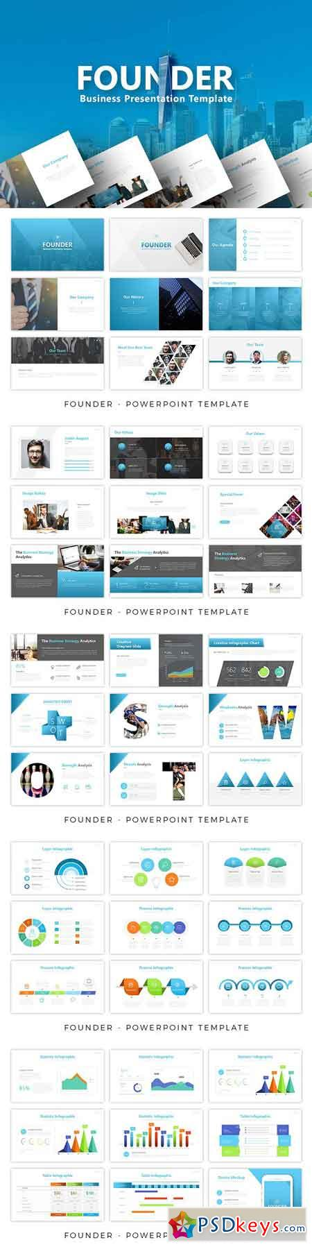 Founder - Business Powerpoint 2678867