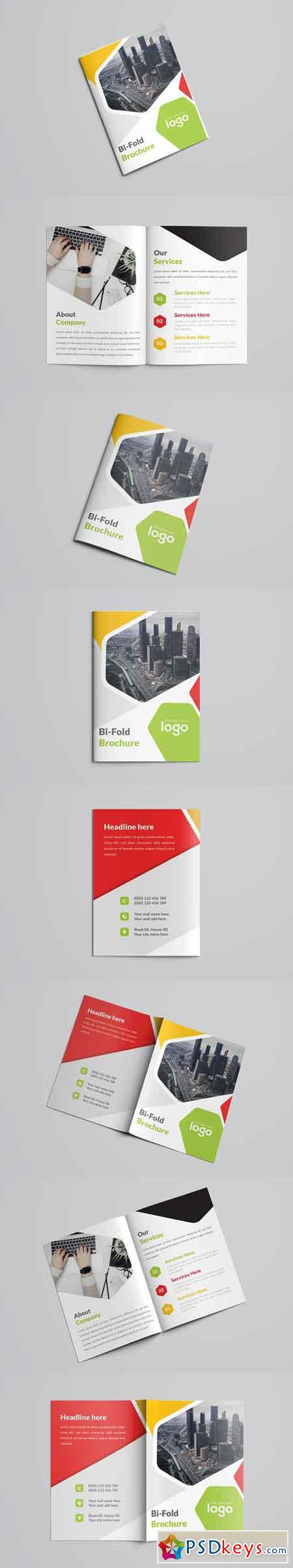 Colorful Business Bifold Brochure 2632891