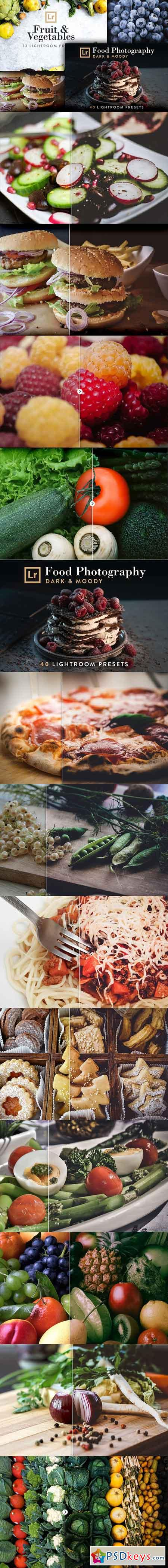 Food Bundle - 72 Lightroom Presets 2645102