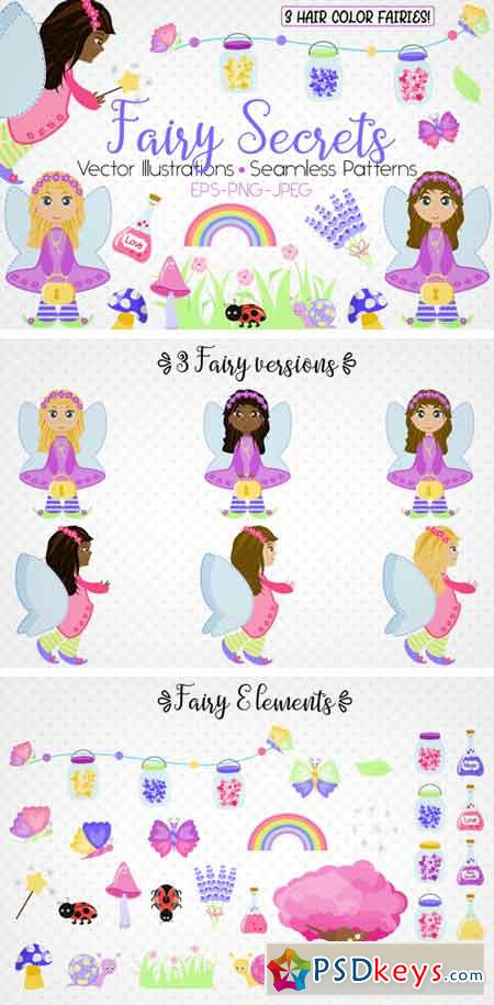 Fairy Secrets - Graphics and Patterns 42658