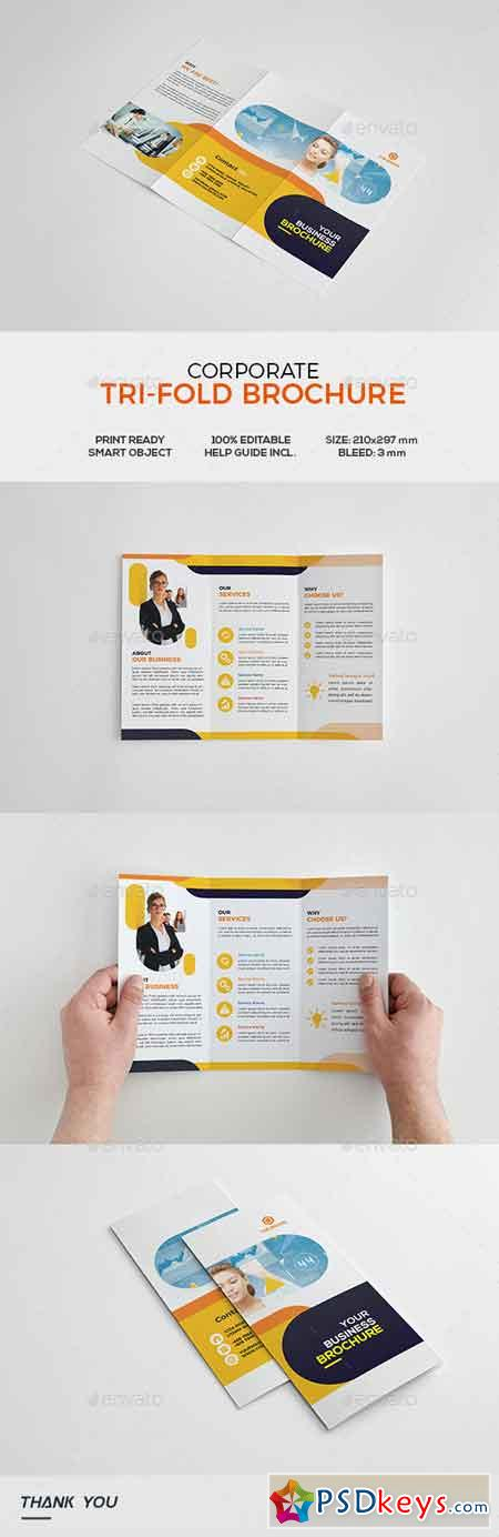 Corporate Trifold Brochure 22106774
