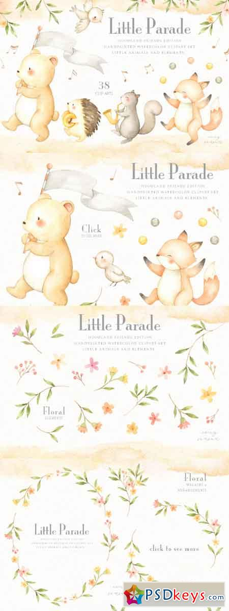 Little Parade Woodland Friends Edition