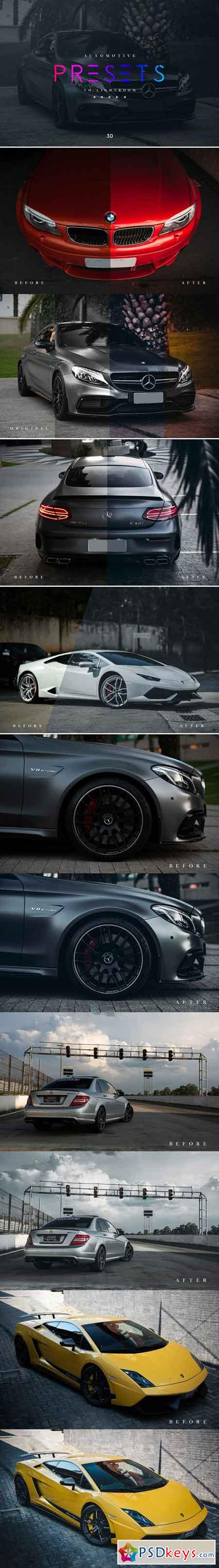 Automotive Lightroom Presets 3.0 2636262