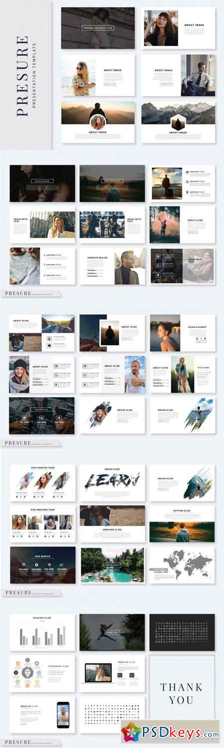 Presure Presentation Template 3465016